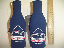 Super Bowl 49 Champions New England Patriots Kolder Bottle Beer Holder Coolie