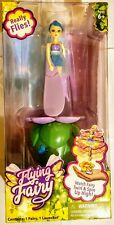 Flying Fairy Twirl & Spin up High Pull Cord Toy No Batteries Needed Ages 6