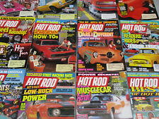 Hot Rod Magazine Lot Muscle Car Vintage Classic Automobile Swimsuit Issue 1990