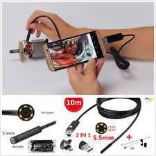 10M 5.5mm Android Hd Endoscope Waterproof Snake Borescope Usb Inspection Camera (Fits: Dodge Shadow)