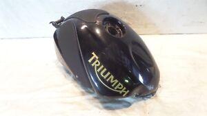 2006 2007 & 2008 Triumph Daytona 675 Nero Carburante Gas Benzina Serbatoio