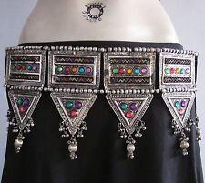 Gypsy BELT TRIBAL COSTUME JEWELRY Bohemian Belly dance Kuchi   Hippy Boho Belt  