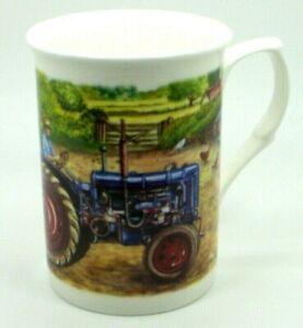 ~~~ Fordson E27N ~ Bone China 10 fl oz(1/2 pint)Tractor Mug