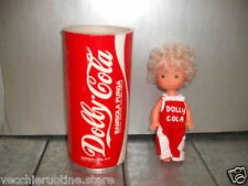 FURGA mini doll minidoll mini dolls CM 15 DOLLY bionda stile lattina Coca Cola