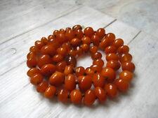 Bernsteinkette Knollen Baltic Amber Necklace Butterscotch