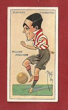 SOTHAMPTON FC  BILL RAWLINGS  Manchester United PORT VALE   1927 caricature card