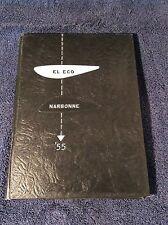 Narbonne High School 1955 Yearbook El Eco Vintage Los Angeles California XLNT