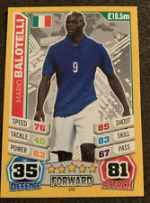 2014 Mario Balotelli World Cup Italy Match Attax #155