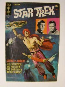 1971 Star Trek #10 Spock & Captain Kirk Gold Key Comics VG