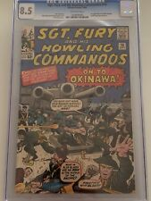 Sgt. Fury # 10 CGC 8.5