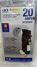 Square D QO120CAFIC Combination Arc Fault Circuit Interrupter 20 Amps 120VAC