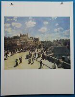"50 French Imperessionist Masterpiece Auguste Renoir ""Pont Neuf, Paris"" Print"