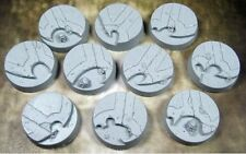 Alien Temple BAT2501 Beveled Bases 25mm Secret Weapon Miniatures Gaming Bases