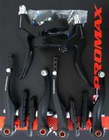 V-Brake Bremsen Set für Vorder und Hinterrad komplett schwarz