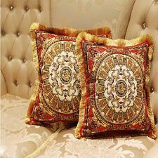 Throw Pillow Case Cushion Covers Pillowcase Queen European Decorative Chair Seat