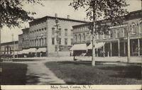 Canton NY Main St. c1910 Postcard