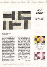 Document Philatélique Timbre 1er Jour : 29/01/ 1994 - Sean Scully Irlande