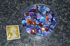 Loose Round Sequins Mixed Sewing Card Making Embellishments