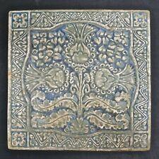 Batchelder California Persian-Inspired Vintage Floral Tile