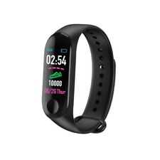 Bluetooth Smart Sports Watch Heart Rate & Blood Pressure Monitor Fitness Tracker
