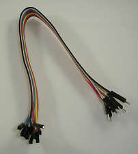 10 Dupont Prototype Cable Female/Male Hembra/Macho 300mm Arduino