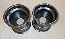 SUZUKI LTZ250 Z250 QUAD SPORT, LTZ400, LTR450 4x110 BLACK REAR WHEELS, RIMS 9""