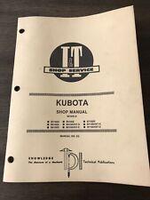 Kubota Iampt Shop Service Manual K2 Models B5100 D E B6100 D E B7100 D E