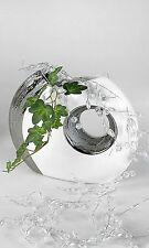 Wunderschöne Deko Vase Blumenvase aus Keramik Edelweiss Höhe 19 cm