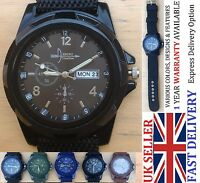 Military Infantry Army Fashion Business Sport Wrist Watch Men Women Boy UK Stock