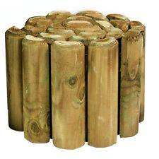 Log Roll Garden Edging (15 inches high x 12 feet long)