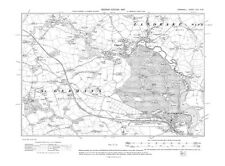 Old map of St Germans, Tideford 1907 - Cornwall, repro Corn-45-NW
