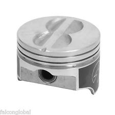 SPEED PRO Chevy 400 Hypereutectic Flat Top 4VR Pistons+MOLY Rings Kit 10.9:1 STD