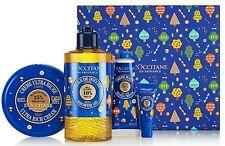 L'Occitane En Provence Shea Butter Dreams Gift Set; 4PC, PLUS Plush Body Sponge