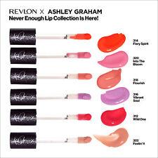 Revlon Ashley Graham Lip Collection Super Lustrous The Gloss, You Choose