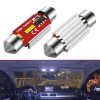 2x Festoon LED Bulbs C5W CANBUS 1860 SMD White Car Interior Dome Map Light 36mm