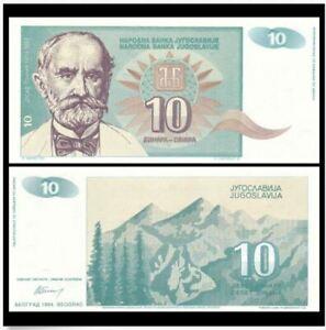 Yugoslavia 10 Dinara 1994 (UNC)
