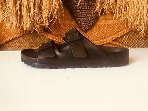 BIRKENSTOCK  Black Rubber Slides Unisex Beach Sandals SZ W:11 M:9  270