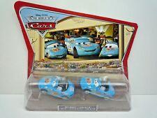 DISNEY PIXAR WORLD OF CARS MOVIE MOMENTS DINOCO MIA & DINOCO TIA / SEALED