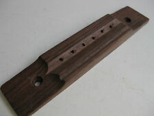 Vintage Rosewood Guitar Bridge Tailpiece for Project / Repair
