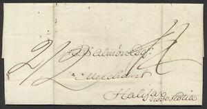 1827 TransAtlantic SFL, London England to Halifax NS, MS Rated 2/2