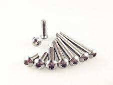 10-50pcs M4 304 Stainless Steel Button Head Hex Socket Cap Screw Allen Bolt