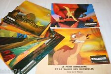 LE PETIT DINOSAURE ! Don Bluth jeu photos cinema lobby cards animation