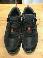 Shimano MT34 SPD cycling bike Shoes, size 45, with cleats, Black/Red,