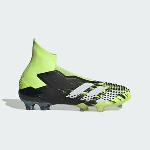 Adidas Predator Mutator 20+ FG Mens Firm Ground Soccer Cleats Black/Green EH2863