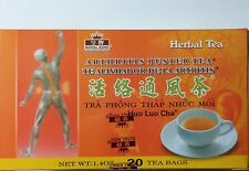 2 boxes -  Royal King ARTHRITIS BUSTER- herbal tea (20 tea bag net 1.41 oz ) box