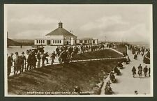 More details for postcard. aberdeen. promenade & beach dance hall - vintage real photographic pc