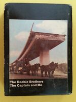 DOOBIE BROTHERS Captain And Me 8 Track Tape w/ Case 1973 WB M8 2694