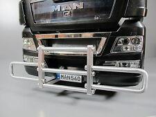 Alum Alloy Bumper Protector Bar Tamiya RC 1/14 Man Scania Volvo FH12 Semi Truck