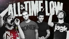 """016 All Time Low - Pop Punk Band Music Stars 24""""x14"""" Poster"""