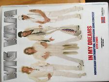 CD DVD PROMO EUROVISION NORWAY 2005 NORUEGA WIG WAN IN MY DREAMS